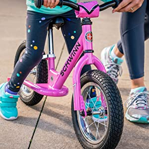 Schwinn Balance Bike for First-Time and Beginner Riders, Designed to Teach  Kids the Basics of Biking and Move to a Bike with Pedals, Sturdy Steel