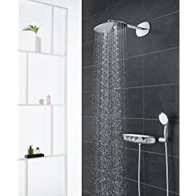grohe rainshower system smartcontrol 360 duo brausen und duschsysteme duschsystem mit. Black Bedroom Furniture Sets. Home Design Ideas