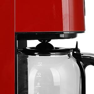 Emerio CME-121593.1 Cafetera de Goteo Automática, Americana, con ...