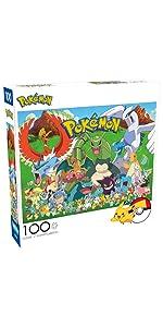 Pokemon - Fan Favorites - 100 Piece Jigsaw Puzzle