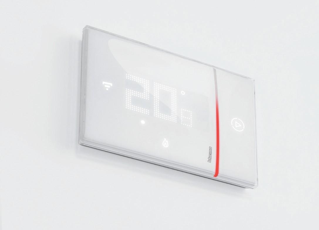 Bticino smarther sx8000 termostato connesso con wi fi - Smarther bticino ...