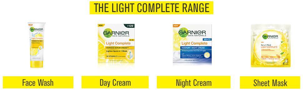 Light Complete face wash