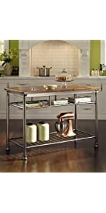 Amazon.com: Home Styles The Orleans Kitchen Island: Kitchen & Dining