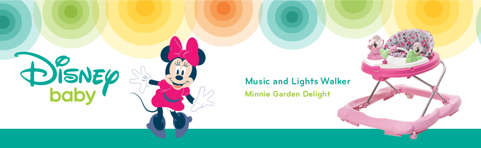Minnie Music Lights Garden Walker