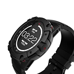 Matrix PowerWatch X, Body Heat Powered Fitness Tracker Smart Watch, 200M Dive, Calorie and Step Count, iPhone/Samsung Compatible
