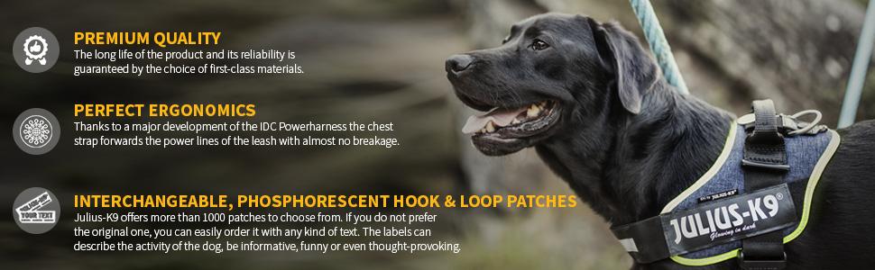 Julius-K9 16IDC-BE-0 IDC Powerharness Size 0 Beige Dog Harness