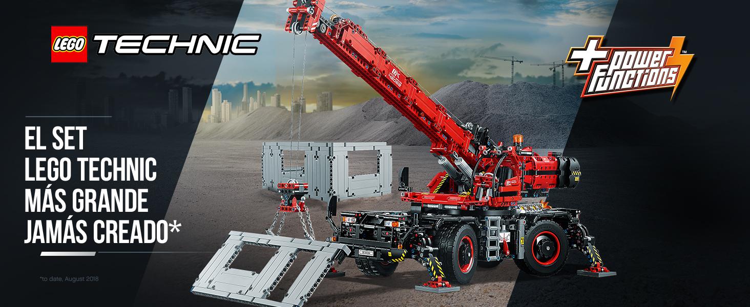LEGO Technic - Grúa Todoterreno, Juguete de Construcción