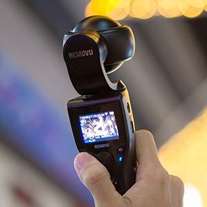 Removu K1 4K UHD Video Camera LCD Screen Integrated 3 Axis Self Stabilizer RMK1