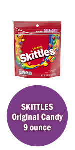 Skittles Original Candy Grab and Go Size Candy Bag