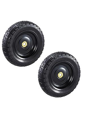 Amazon.com: Carros de gorila gct-10nf de repuesto neumático ...