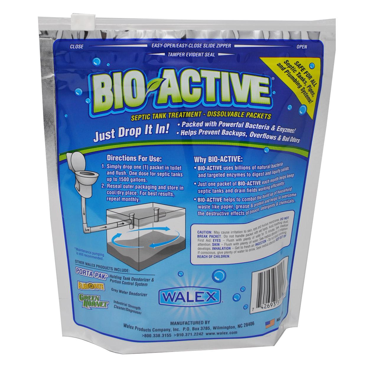 Amazon Com Walex Bio 31112 Bio Active Septic Tank