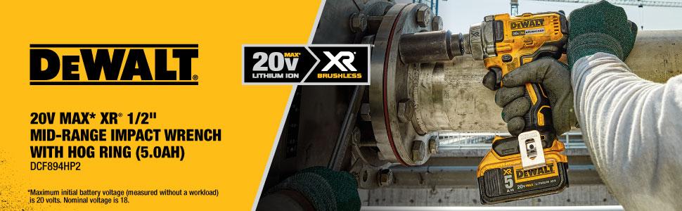 20V cordless mid range impact wrench