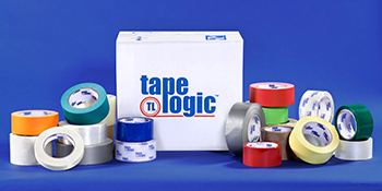 Boxes Fast Tape Logic #50 Natural Rubber Tape Clear 2 x 110 yds Pack of 6 1.9 Mil