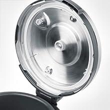 dishwasher safe, removable lid