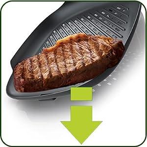 philips hd9910 20 grillpfanne zubeh r f r airfryer antihaft oberfl che schwarz. Black Bedroom Furniture Sets. Home Design Ideas