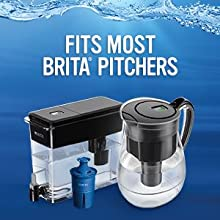 brita pitchers;brita water dispensers;longlast filters;water purifier;filter that lasts;countertop