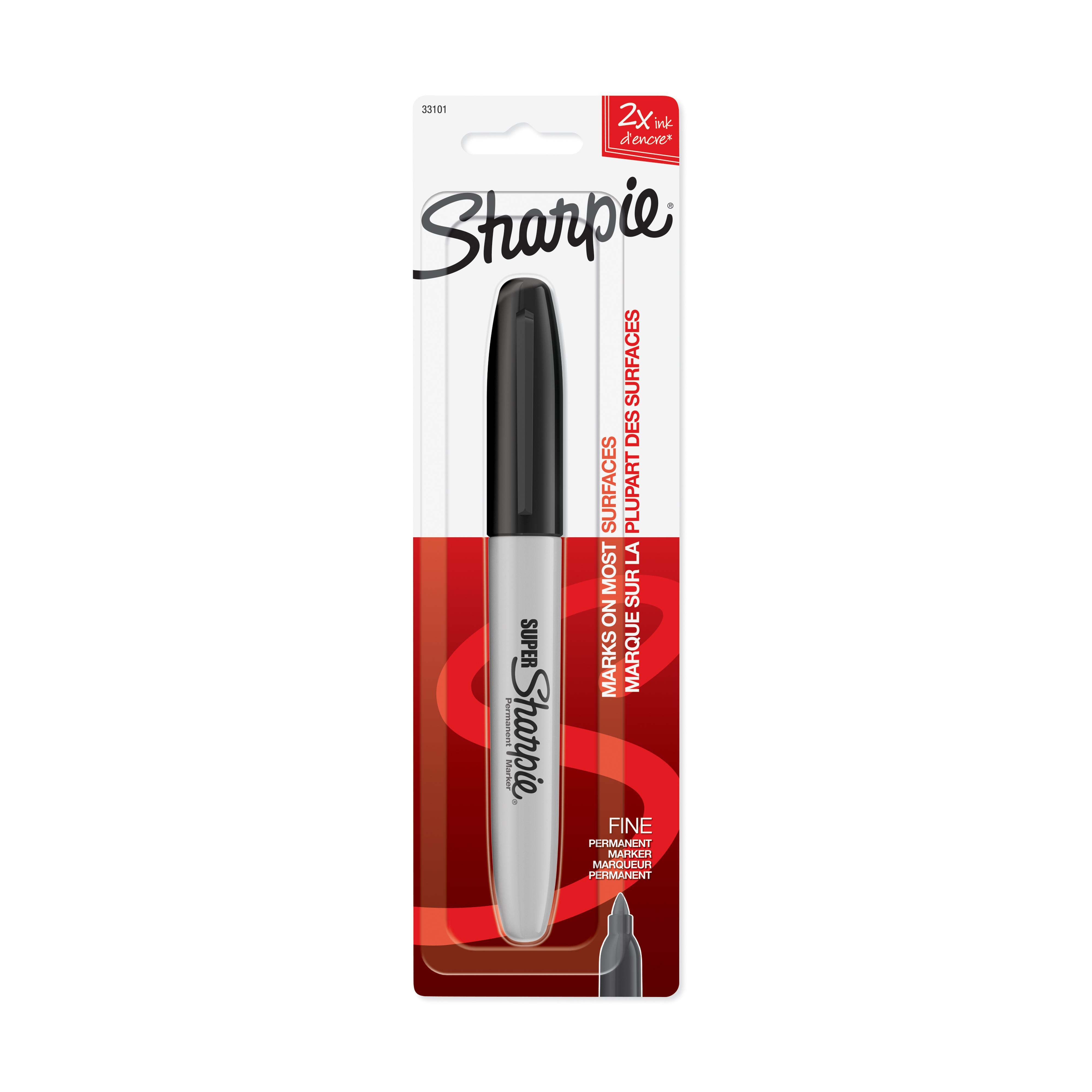 Amazon Com Sharpie Sharpie Super Fine Point Black Ink