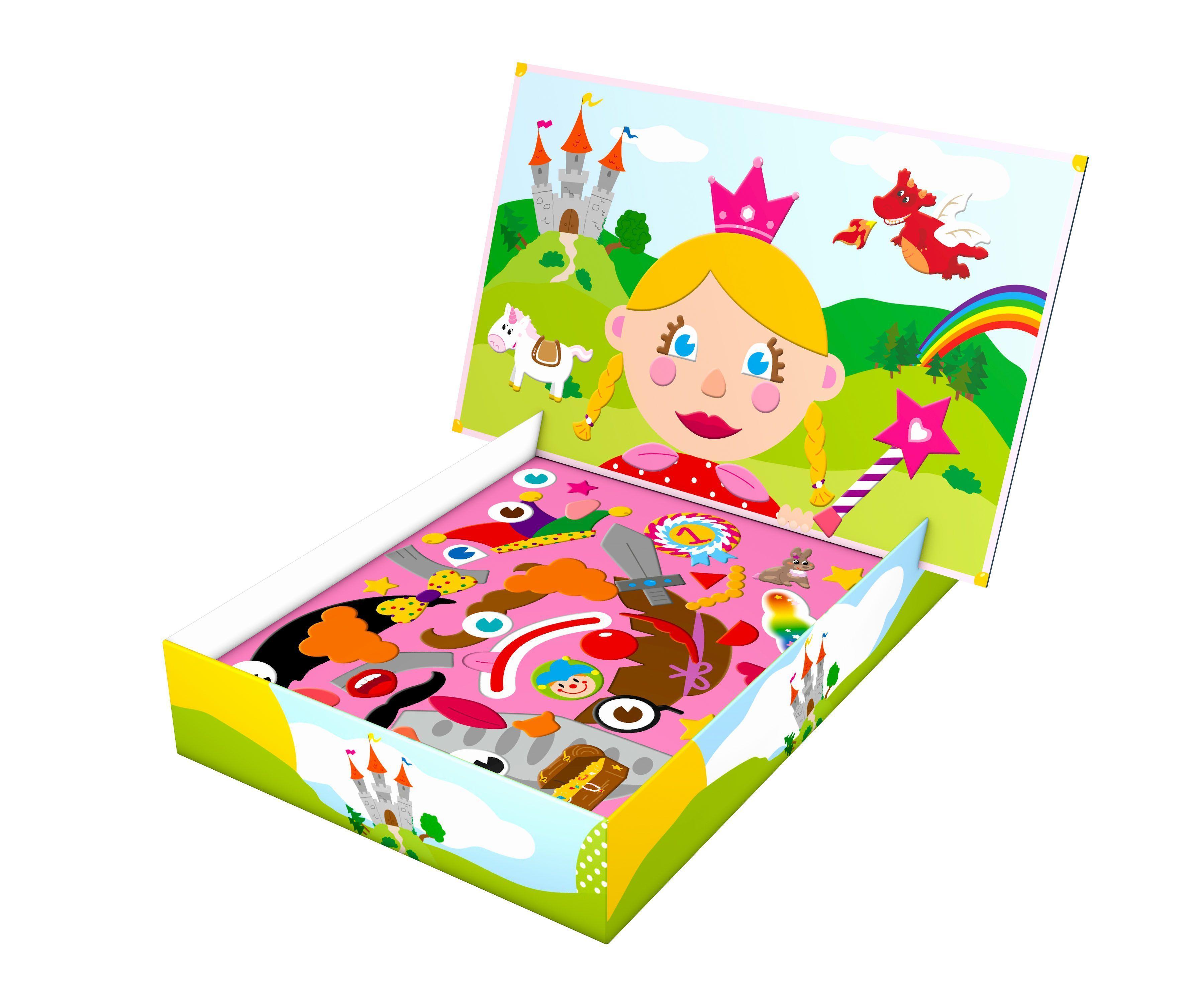Magnetspiel Sonstige Spielzeug-Artikel Prinzessin und Einhorn Noris Spiel Deutsch 2018