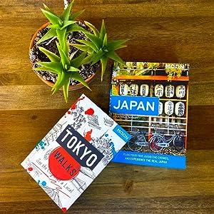 Moon Japan and Tokyo Walks Covers