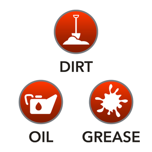 Dirt, Oil, Grease