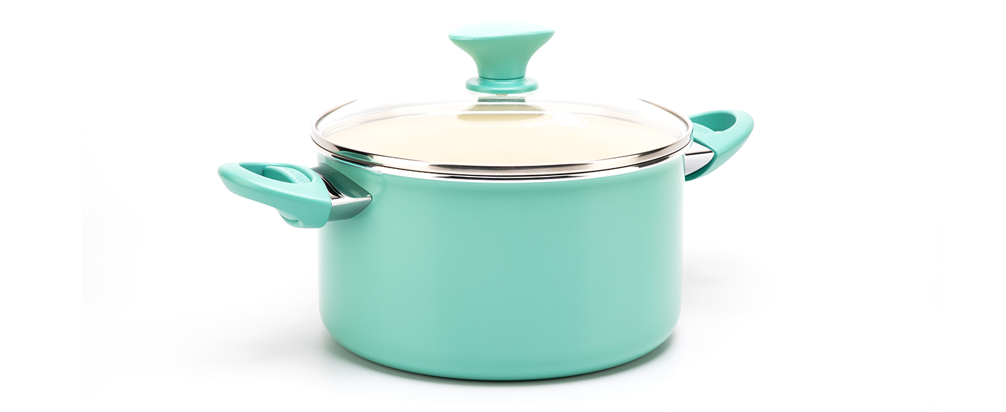 GreenPan, Rio, Healthy Ceramic Nonstick, fry pans, hard anodized, scratch-resistant, colorful, set