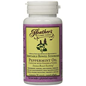peppermint, fennel, ibs, capsules, pain, bloating, gas, urgency