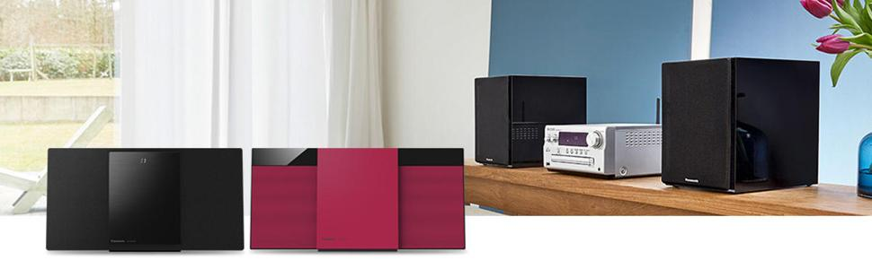 Panasonic Kompaktanlagen