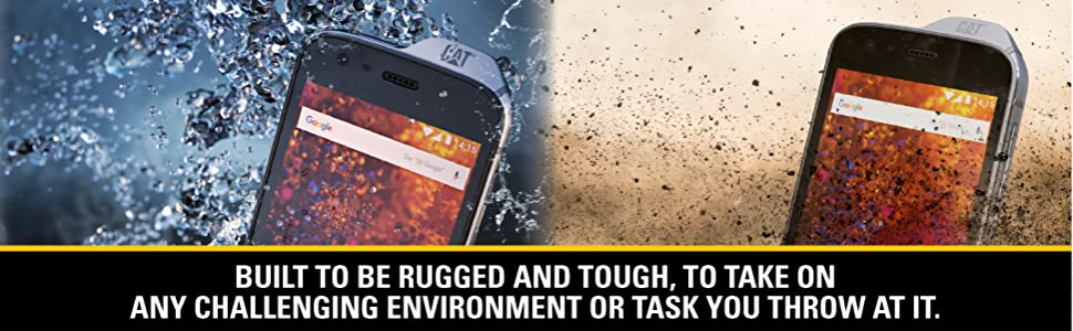 reputable site 45b0f 83cd6 CAT PHONES S61 Rugged Waterproof Smartphone with integrated FLIR camera.