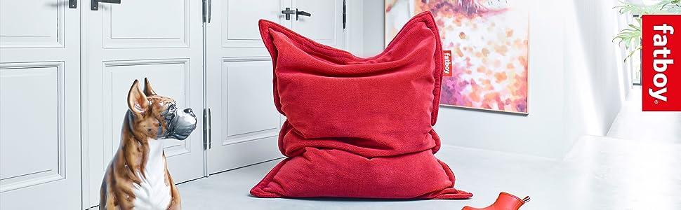 Fatboy Original Slim Teddy Soft Bean Bag Chair
