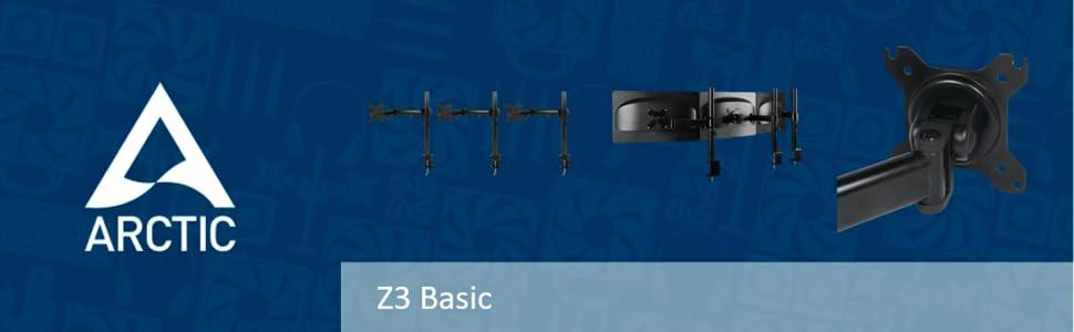 Arctic Z3 basic monitor arm