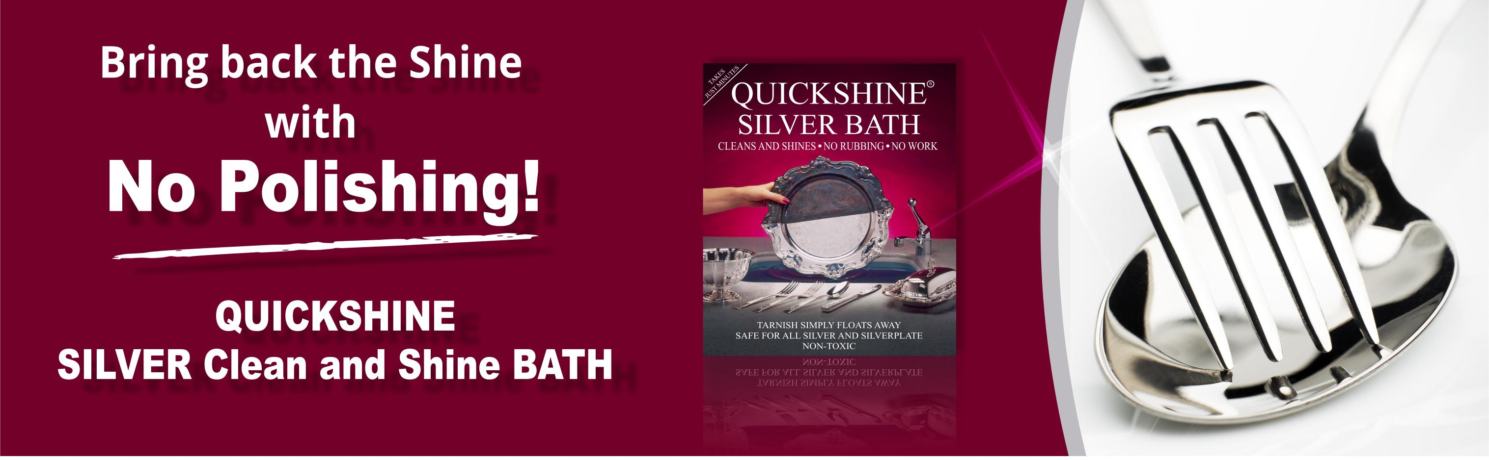 Silver Plating Bath 4 sachets Makes your silver sparkle