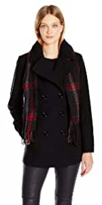 f12348ac0 Amazon.com: London Fog Women's Midi-Length Trench Coat: Clothing