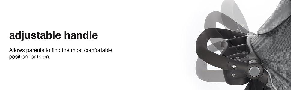 adjustable handle, comfortable, parents, toddler