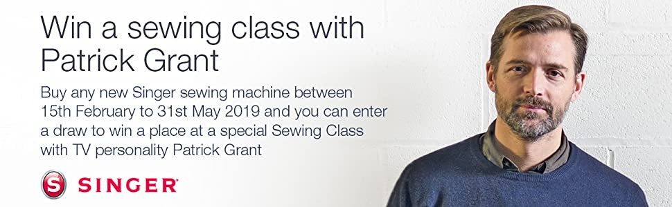 Patrick Grant Sewing Bee Singer Competition Win Sewing Class