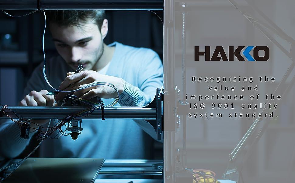 Hakko kit de pistola de soldadura de alambre de hierro kit de fundición accesorios de cobre
