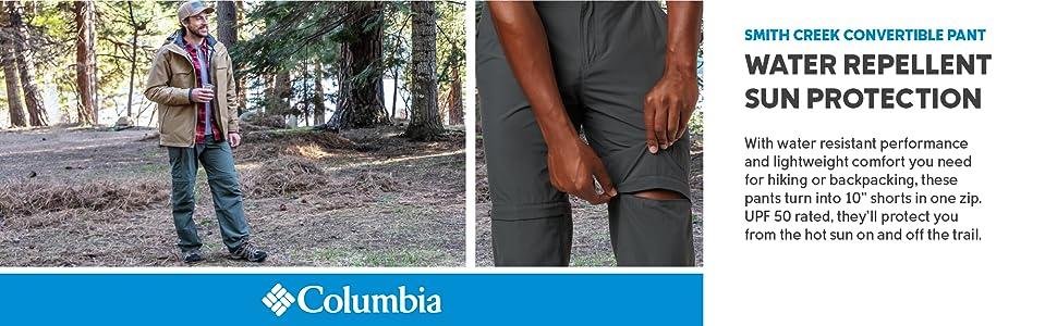 Columbia Men';s Smith Creek Convertible Pants