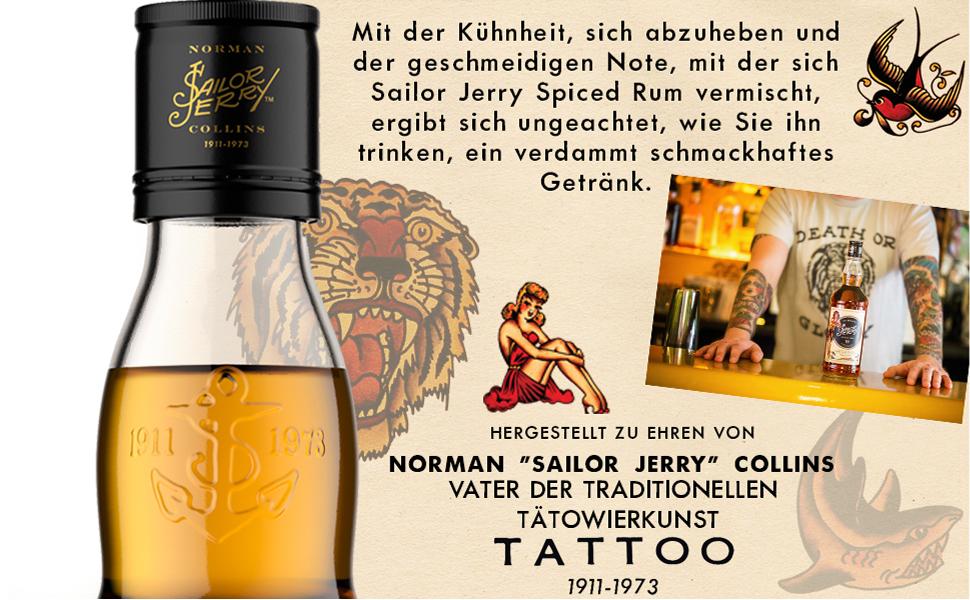Sailor Jerry Spiced Rum (1 x 0,7 l)