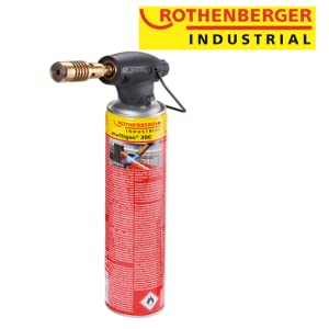 rothenberger lampe à souder brûleur brasage  tubes en cuivre