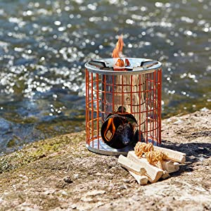 Flamers firelighters camping cooking on wood firelighter