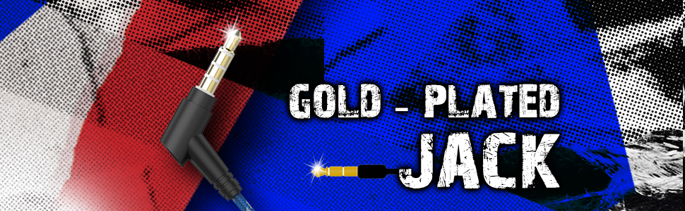 gold-plated jack