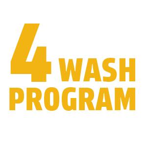 4 Wash Program
