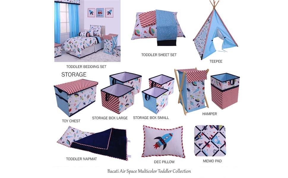 Boys Toddler Bedding Collection