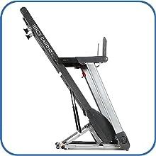 80i Fold Flat Treadmill Folds Up