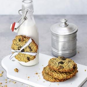 Hafercookies mit Milch