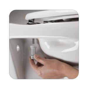 Bemis Buxton Stay Tight Toilet Seat White Amazon Co Uk