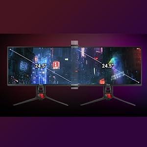 ASUS ROG Bezel-Free Kit ABF01 per schermo piatto fino a 27