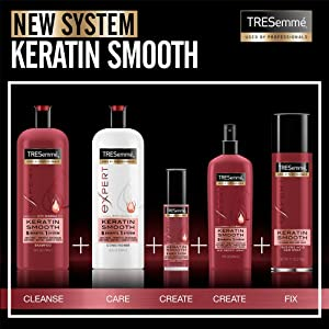 TRESemmé Keratin Smooth Product Line