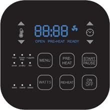 Controles digitales inteligentes para un fácil uso y una cocción precisa