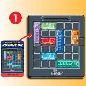 Think Fun- Rush Hour Juego de Habilidad (Ravensburger 76338): Amazon.es: Juguetes y juegos