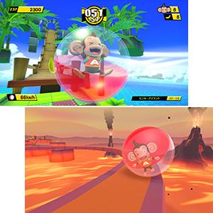 スーパーモンキーボール セガ 最新作 リメイク ゲームソフトおサルさん ボール 転がしゲーム お手軽 やりこみ